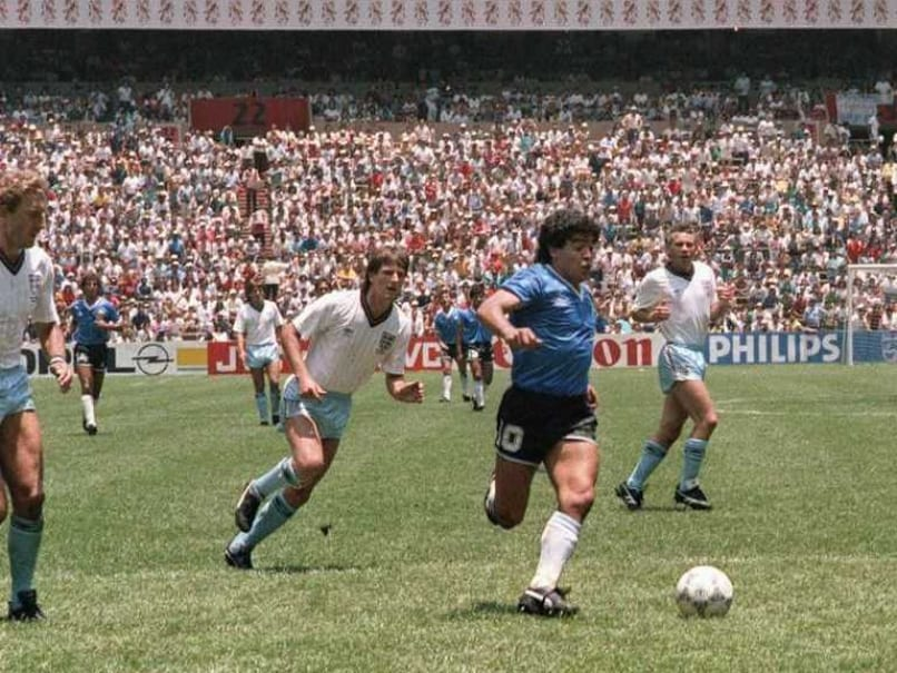 'Hand of God' Soccer Legend's Two Famous Goals